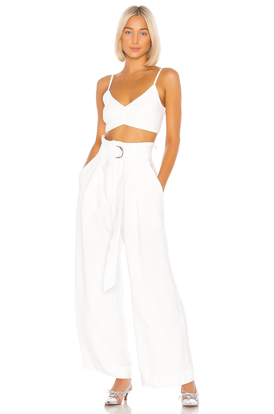 Sabina Musayev Hunter Pants in Ivory