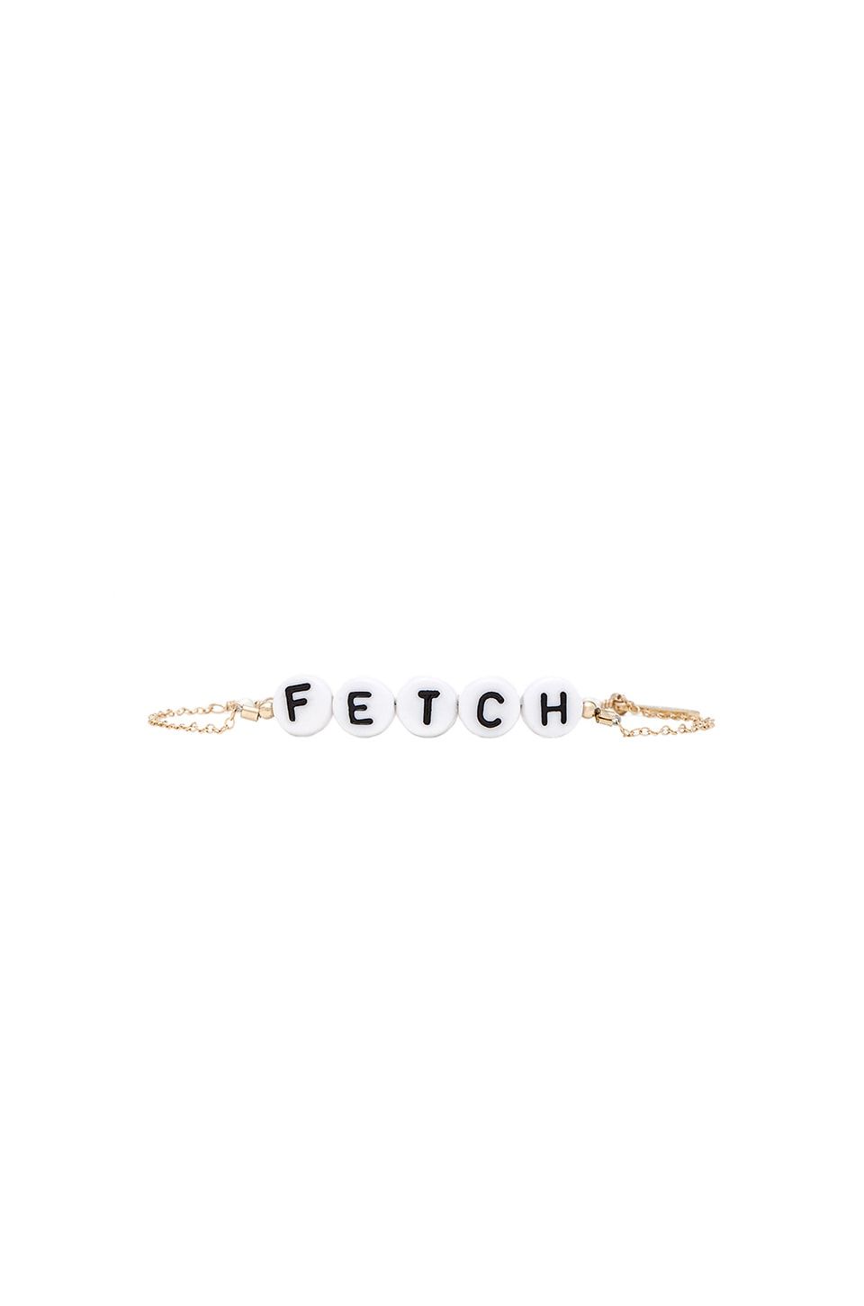 Stella and Bow Fetch Cady Bracelet in Gold