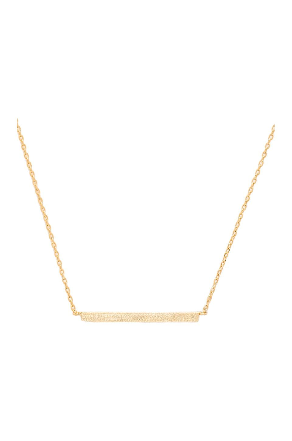 Stella and Bow Siouxsie Sioux Necklace in Gold