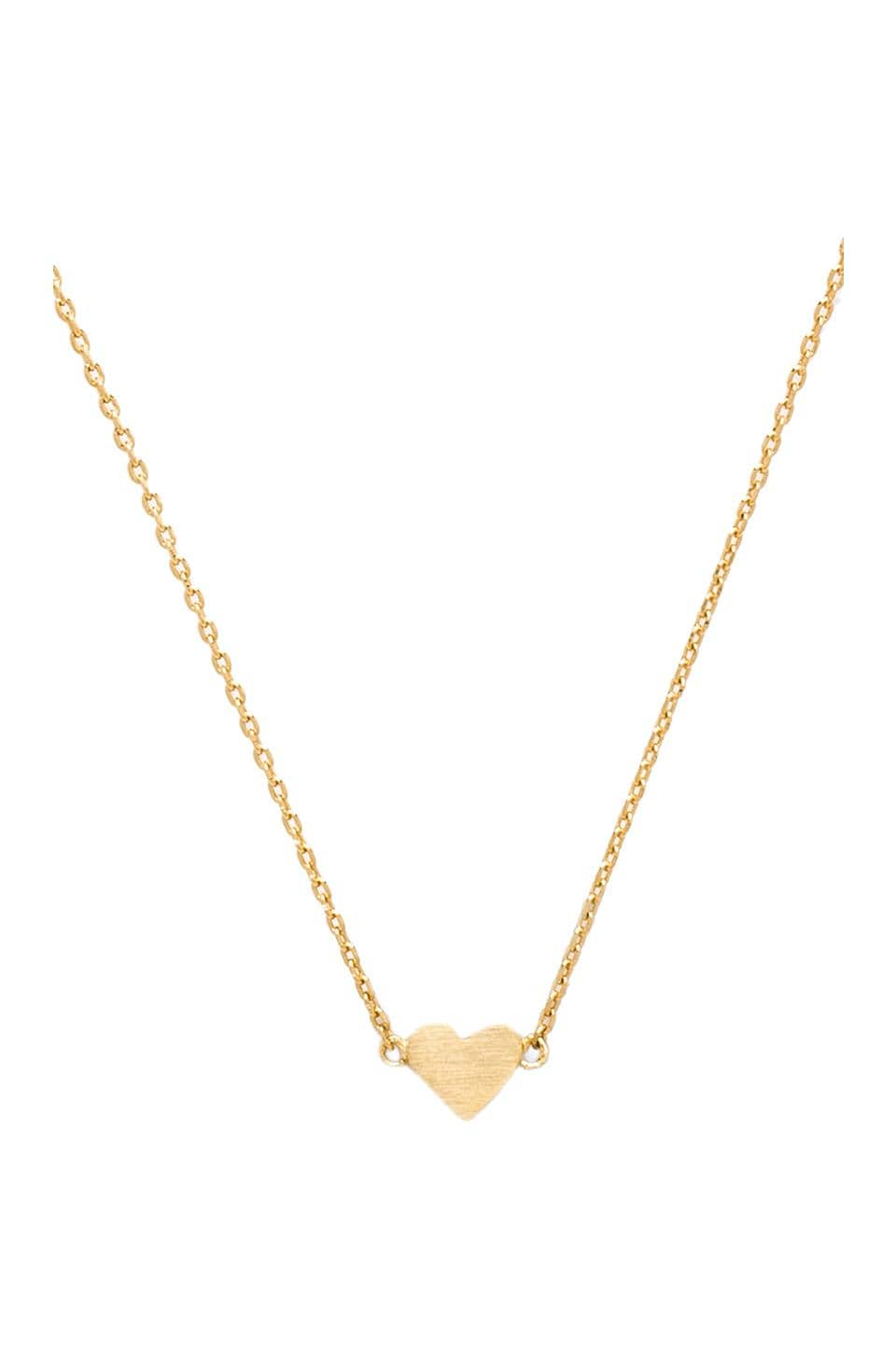 Stella and Bow Courtney Love Necklace in Gold