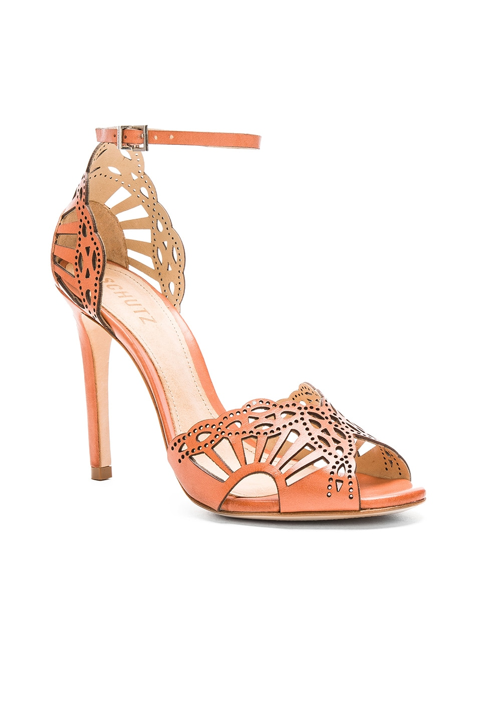 Gorgeous sandal with cut-out detailing