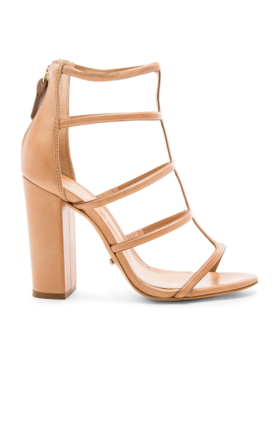Schutz Sansa Heel in Light Wood