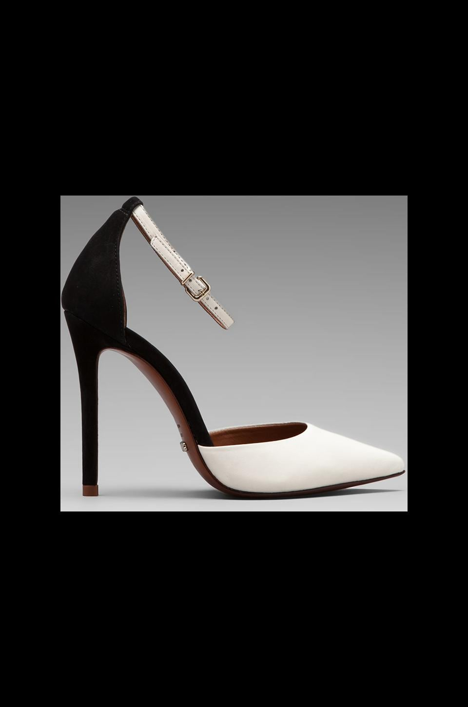 Schutz Irma Colorblock Pump in Black/White