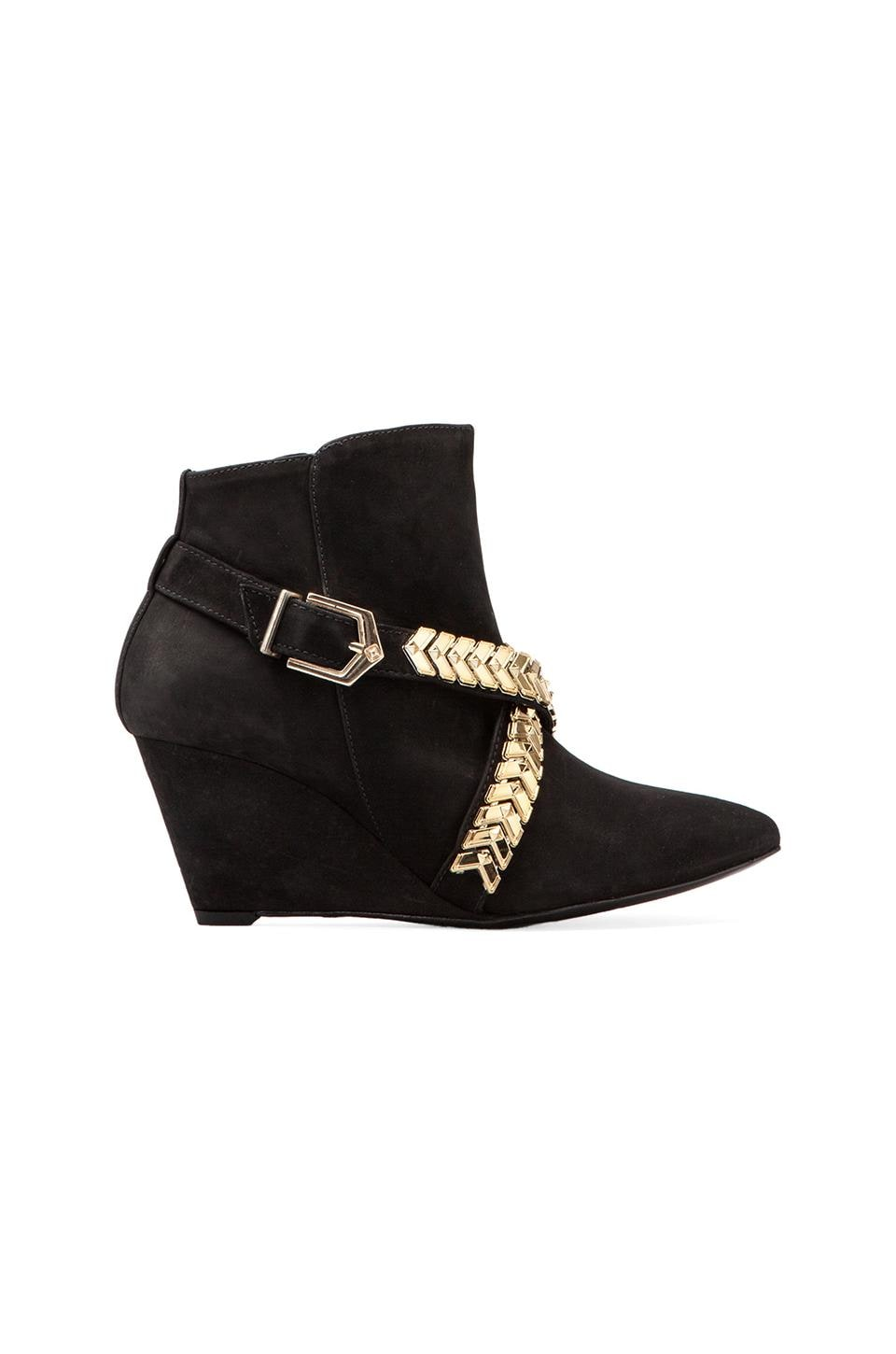 Schutz Bow Bootie in Black