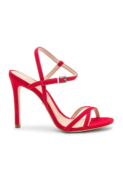 Schutz Opal Sandal in Club Red