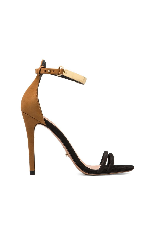 Schutz Celina Heel in Black/Brown