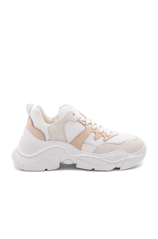 Schutz Jackye Sneaker in Pearl & Vanilla