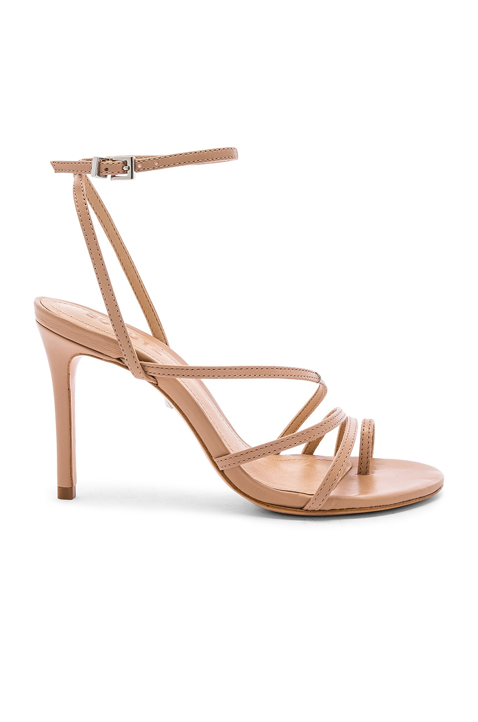 Schutz Raona Heel in Honey Beige