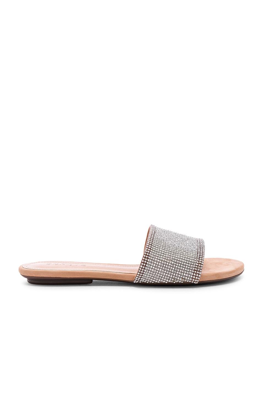 Schutz Queren Sandal in Cristal