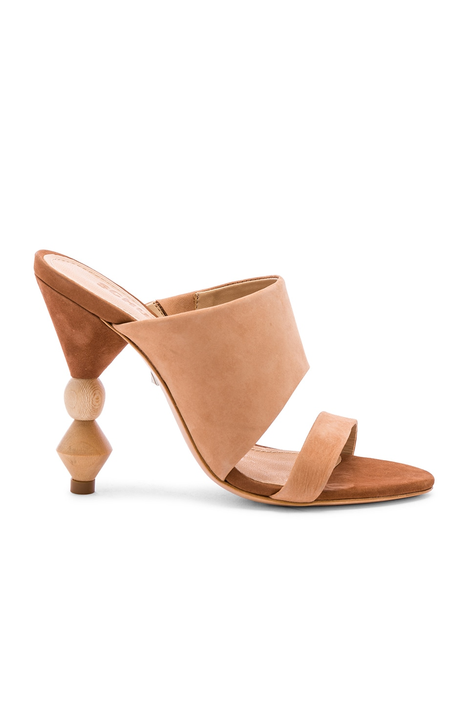 Schutz Tosca Heel in Honey Beige