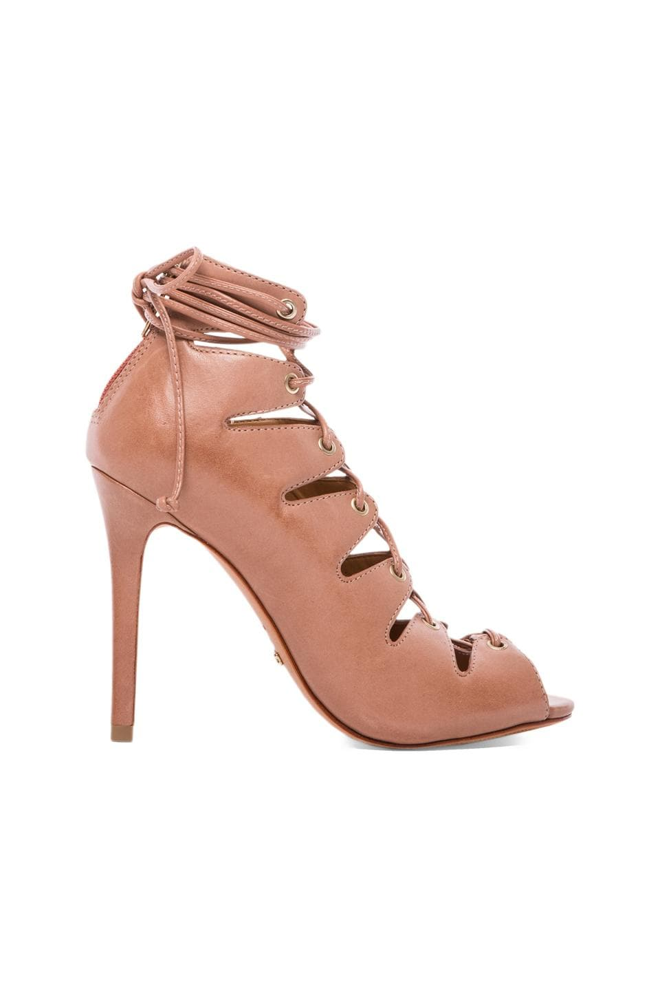 Schutz Slate Heel in Toasted
