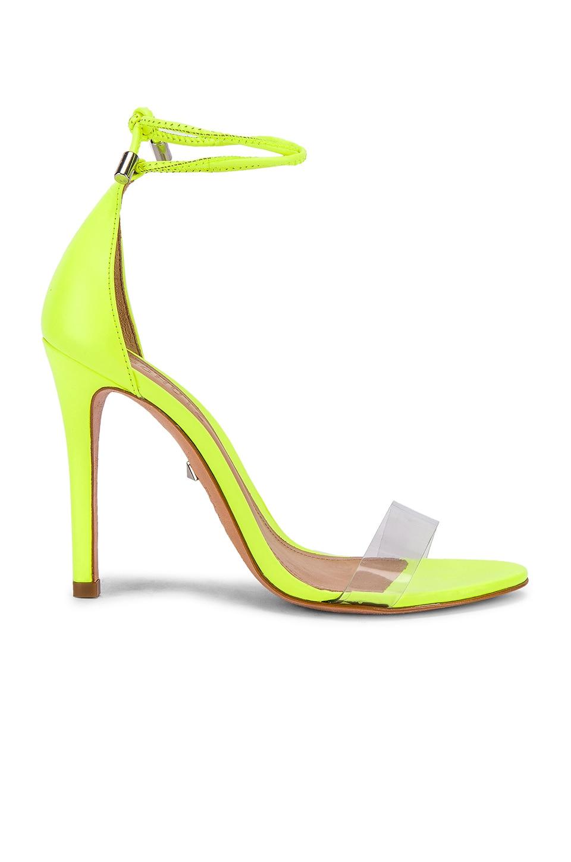 Schutz Josseana Sandal in Neon Yellow