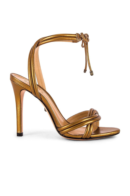 Schutz Yvi Heel in Bronze Metallic
