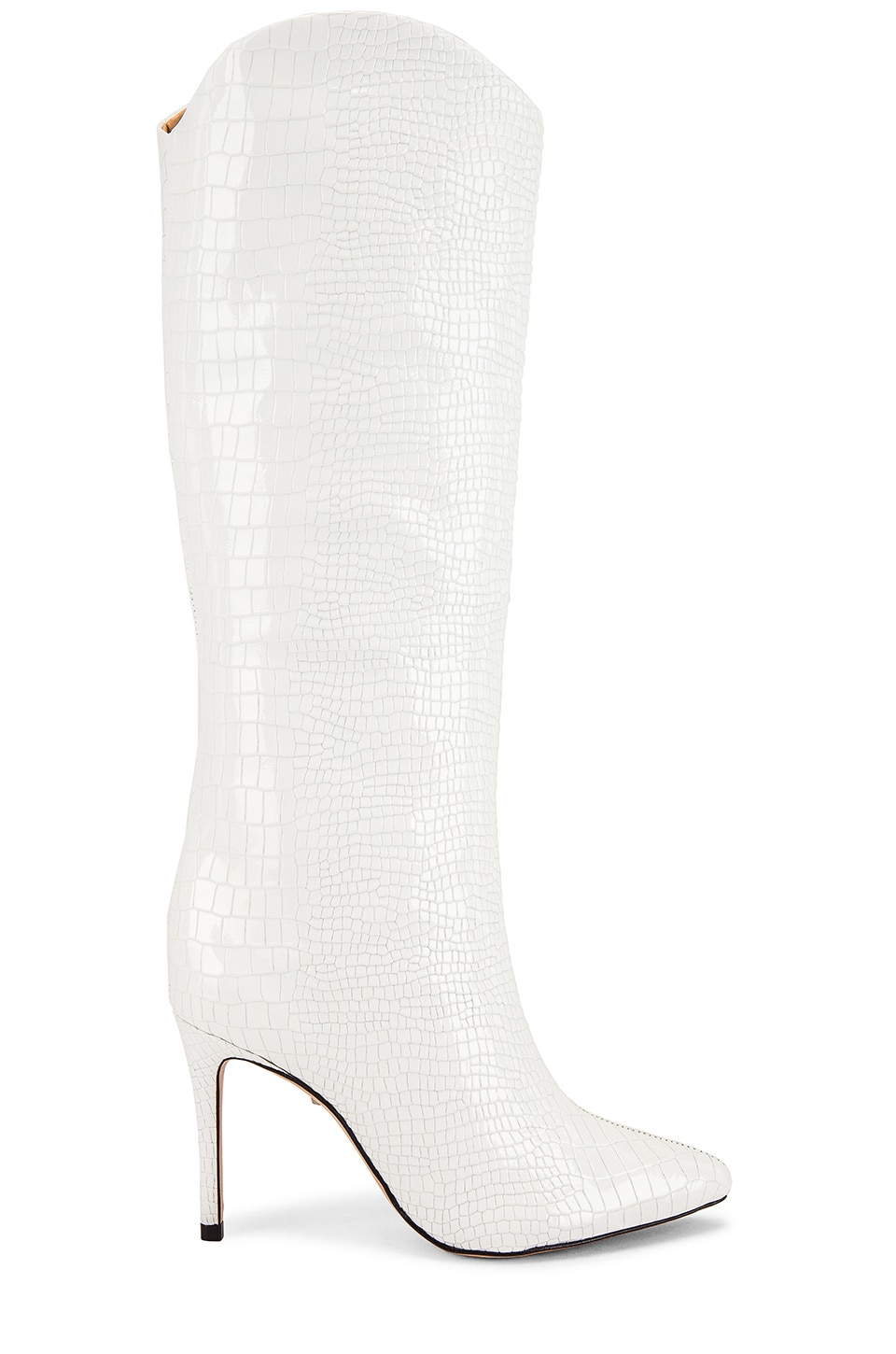 Schutz Maryana Boot in White Croc