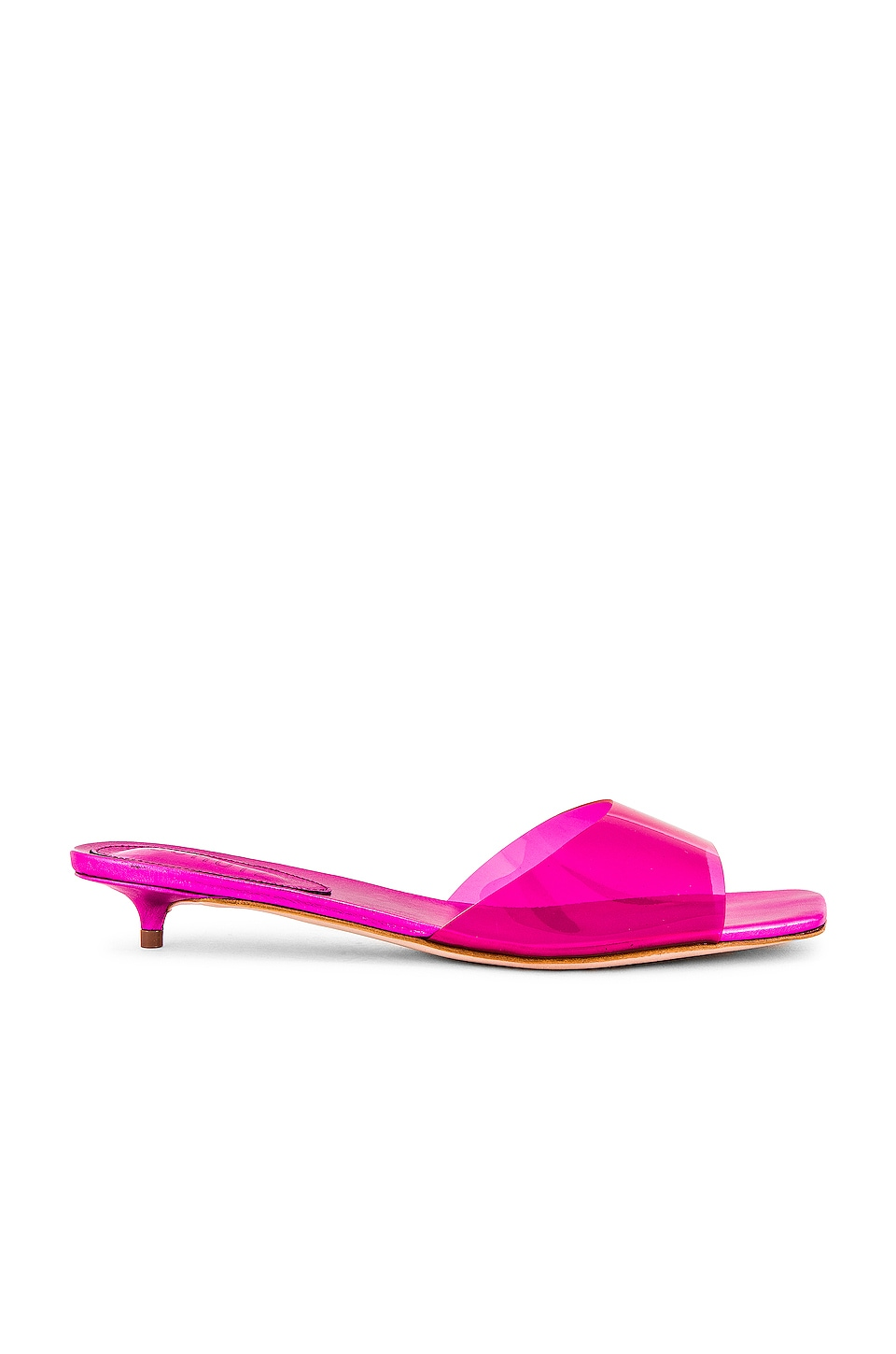Schutz Zora Sandal in Rose Red