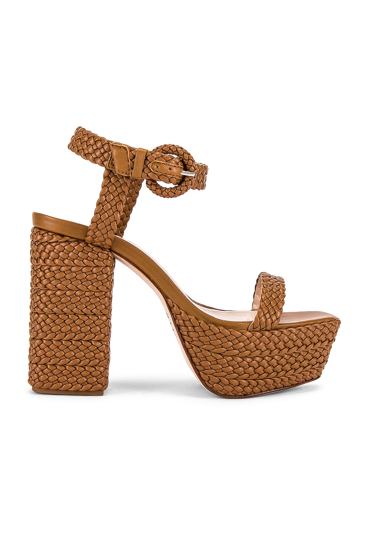 Schutz Sabella Platform Sandal in Hazel