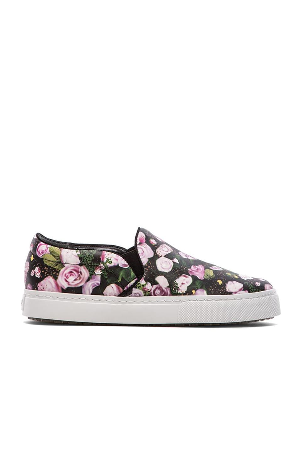 Schutz Rosa Sneaker in Flower Mix & Black