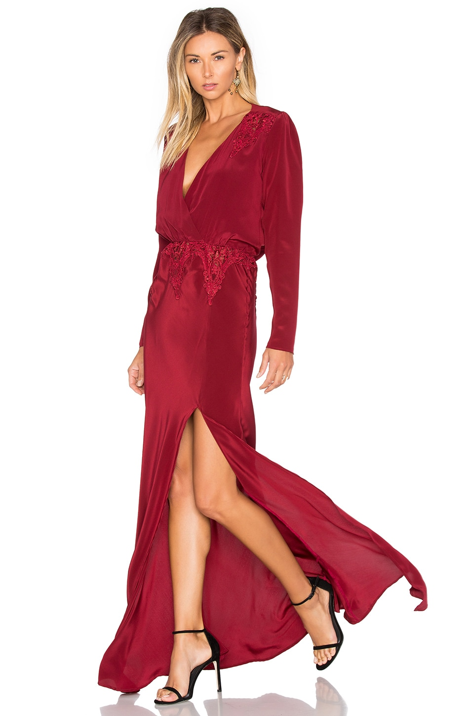 STONE_COLD_FOX x REVOLVE Alabama Gown in Red