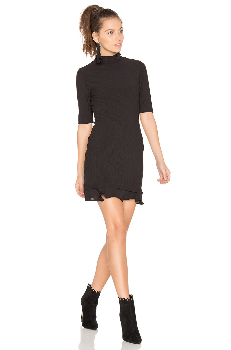 STONE_COLD_FOX Behati Dress in Black