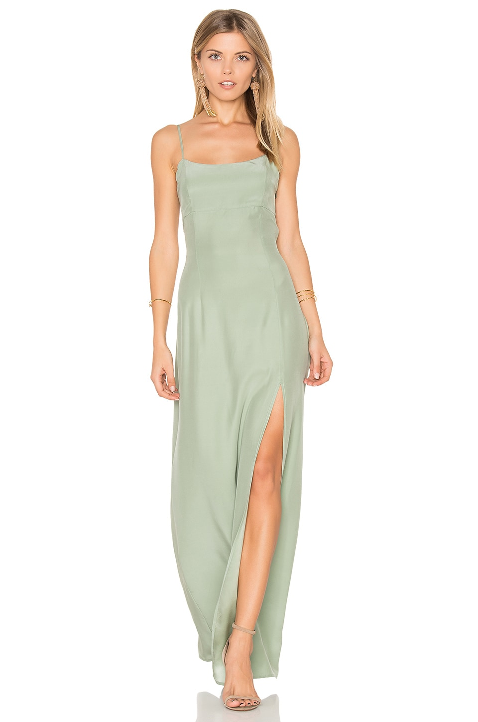 STONE_COLD_FOX Christy Gown in Sea Green