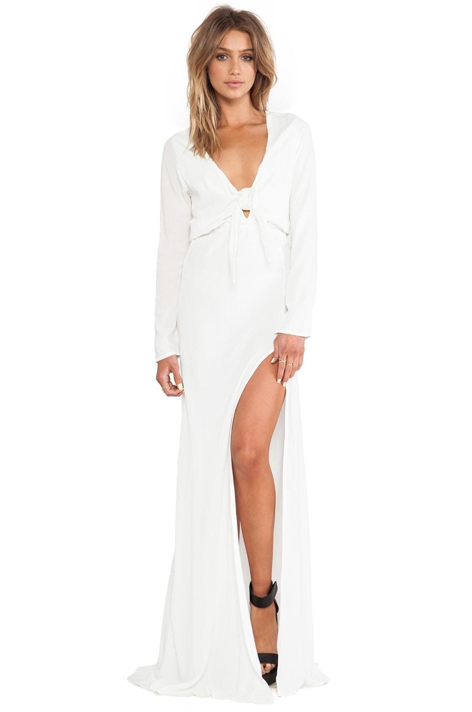 STONE_COLD_FOX Desire Gown in White