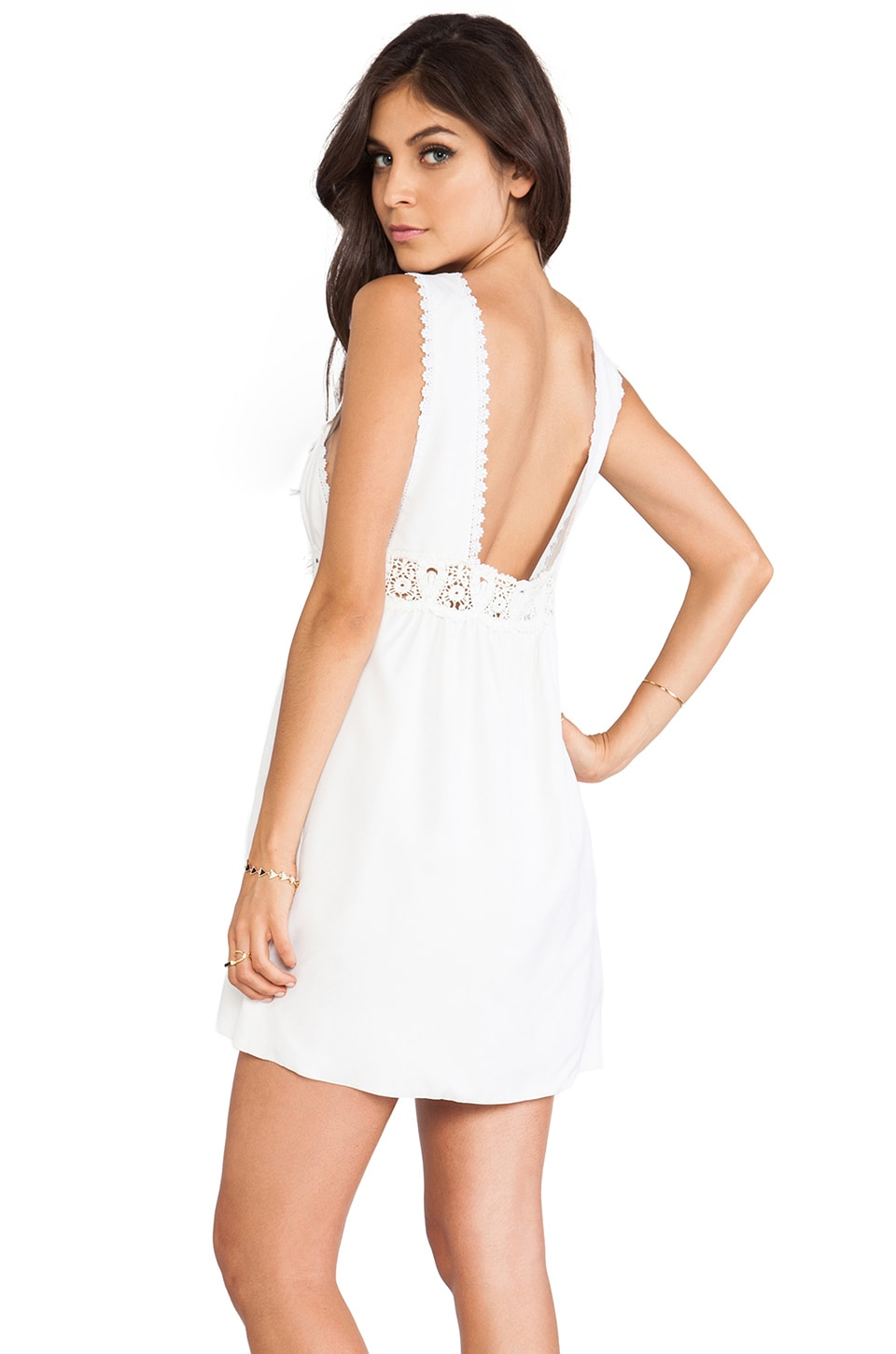 STONE_COLD_FOX Virgin Dress in White