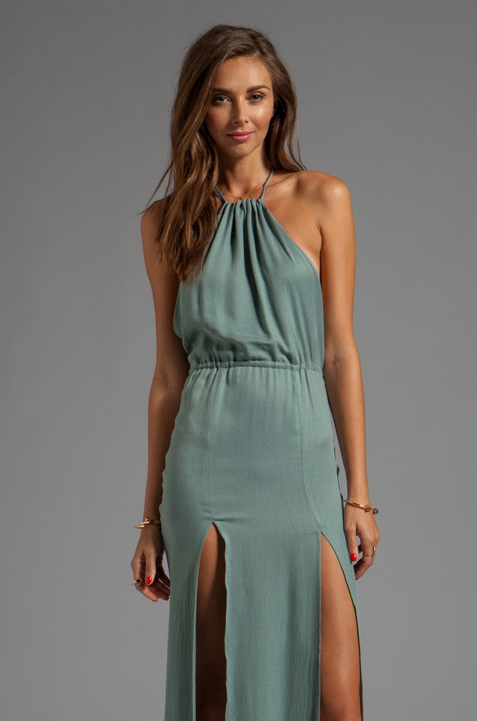 STONE_COLD_FOX Onyx Gown in Seafoam Green | REVOLVE