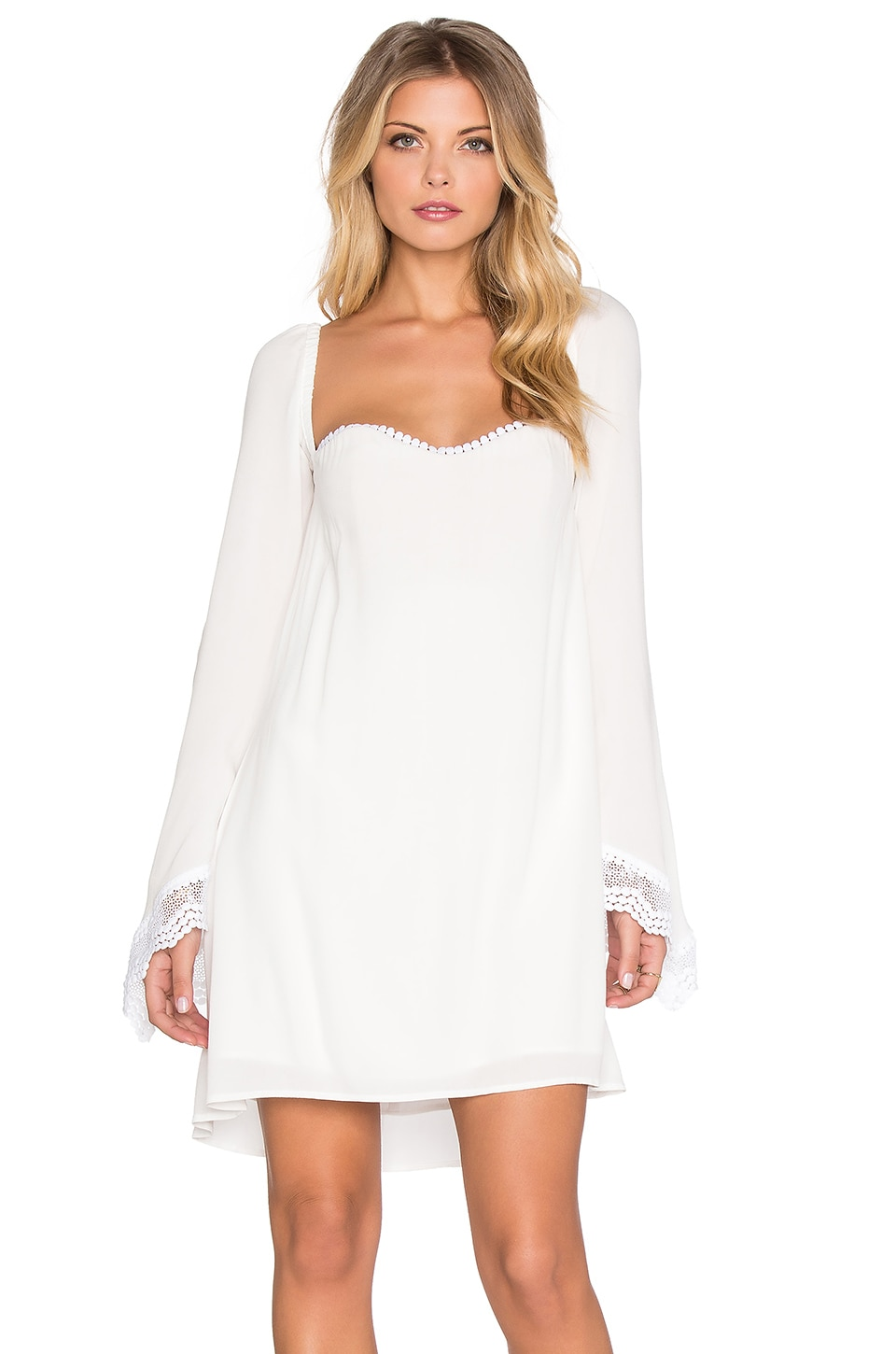 STONE_COLD_FOX Pieces Dress in White