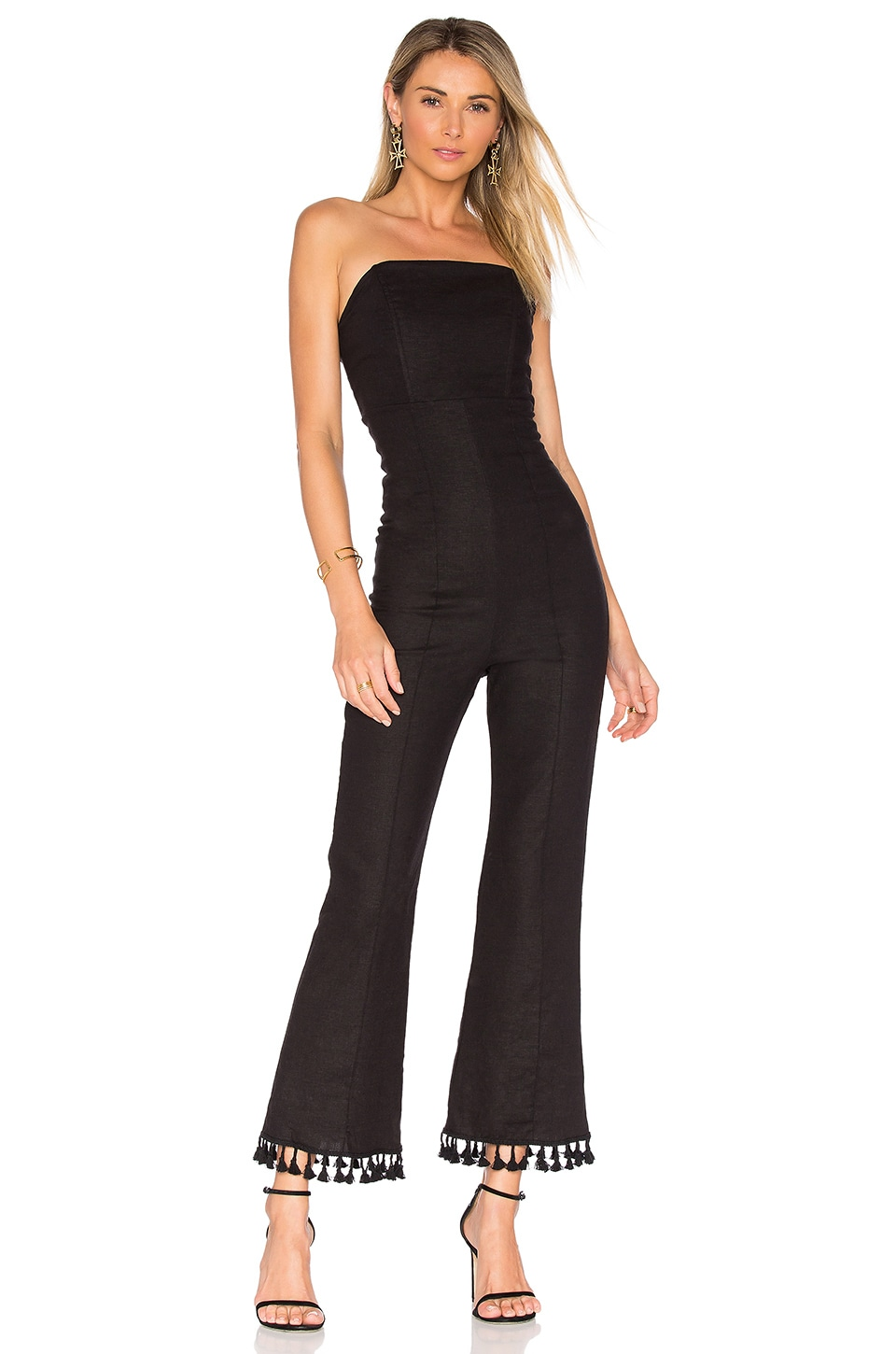 STONE_COLD_FOX Naples Jumpsuit in Black