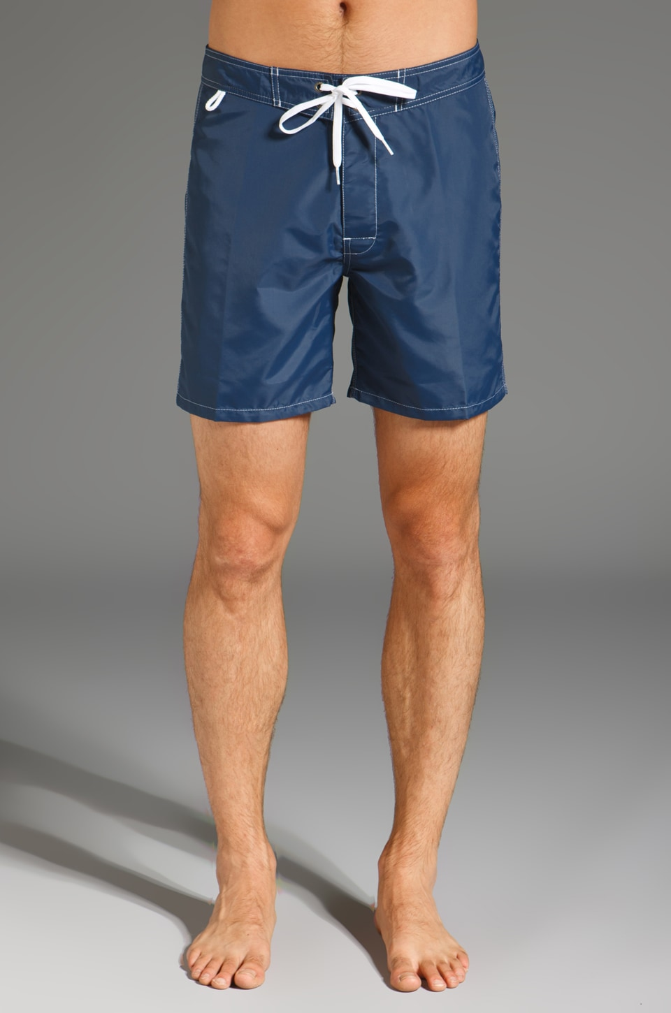 "Sundek 17"" Solid Boardshorts in Navy"