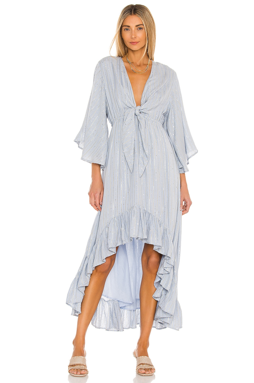 Sundress Juliana Dress in Therapy Blue