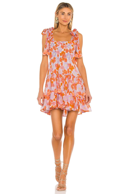 Sundress Pippa Short Dress in Flowers
