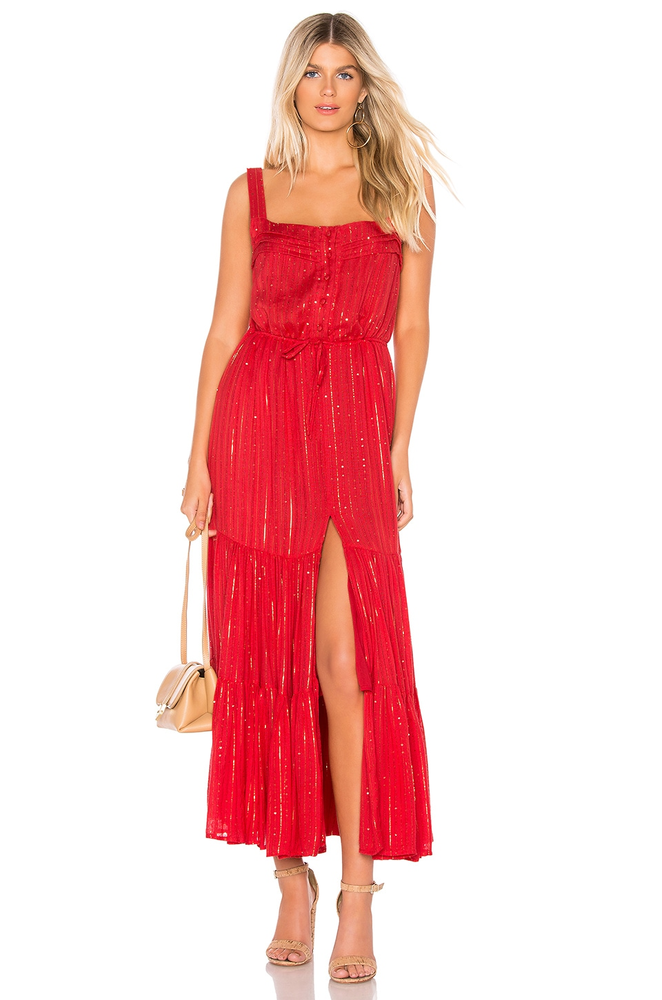 Sundress Lucia Dress in Roma Red