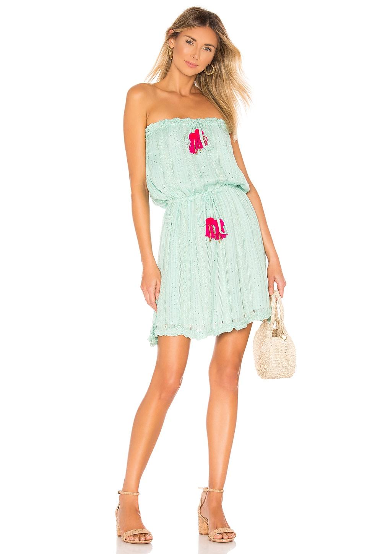 Sundress Anoushka Dress in Petra Aqua & Pink