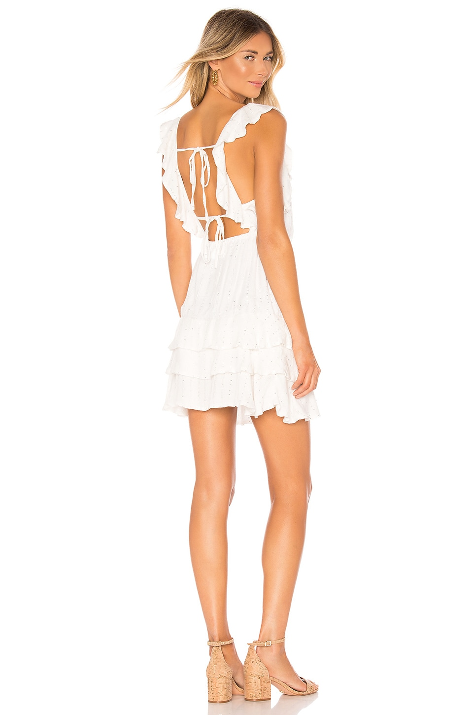 Sundress Emy Dress in Preciuse White