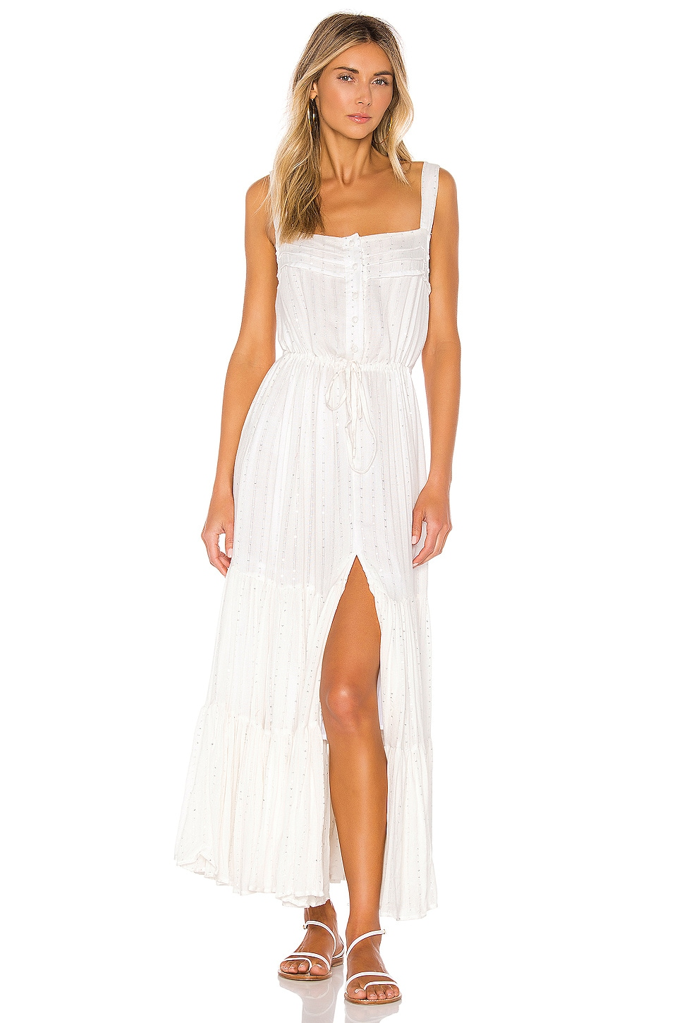 Sundress Lucia Dress in Precieuse White