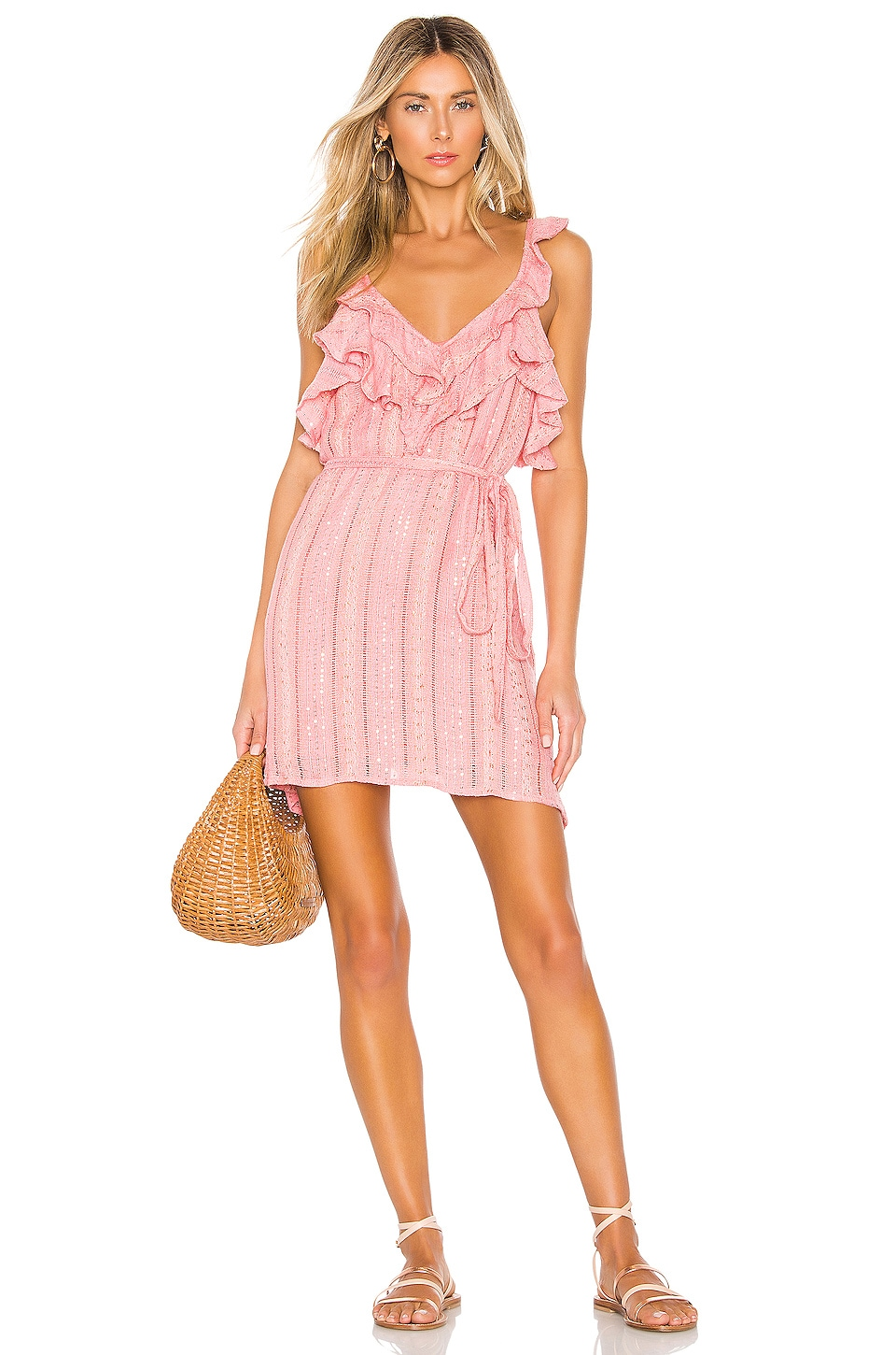 Sundress Iris Dress in Petra French Rose