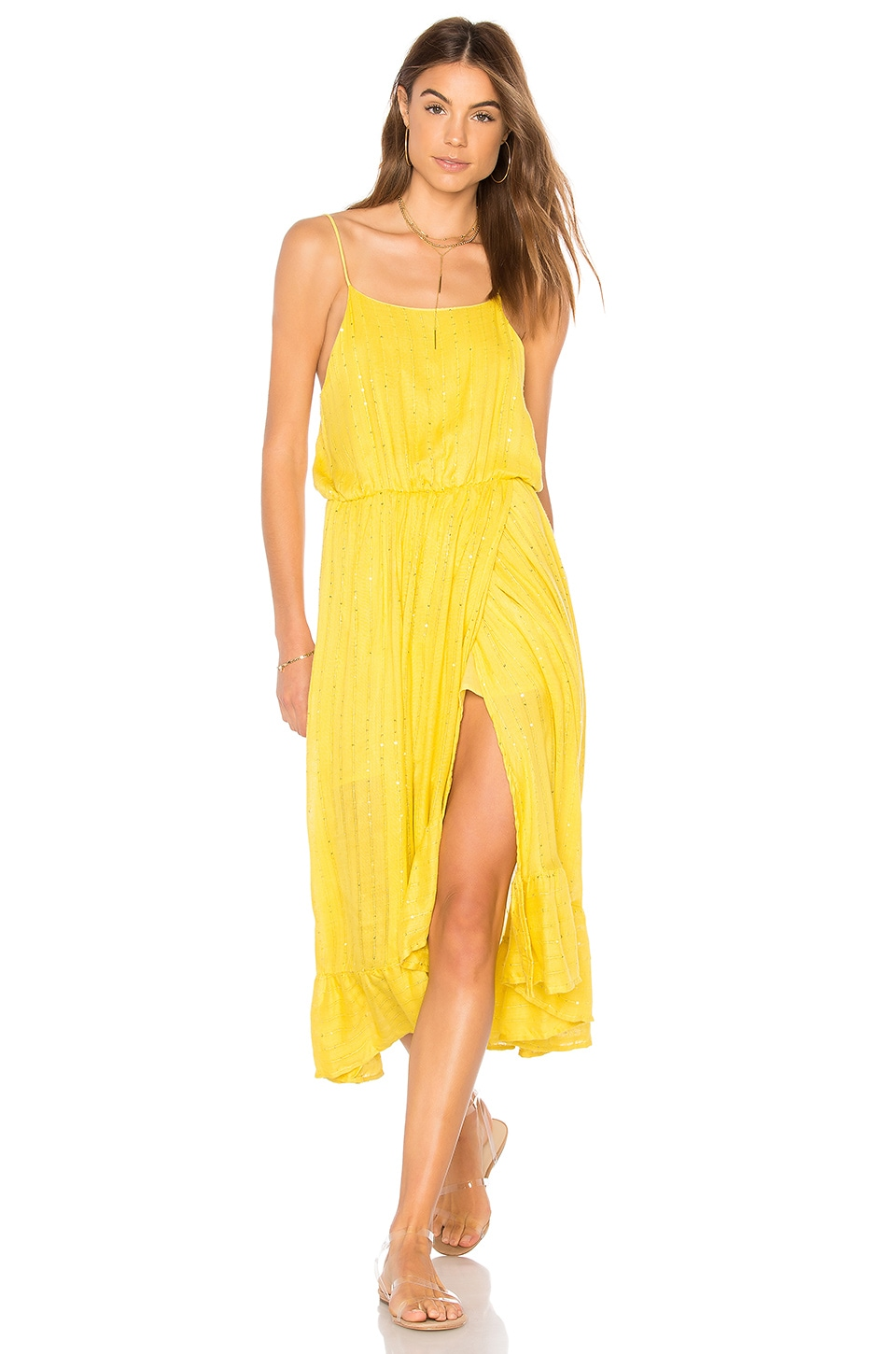 Sundress Angelique Dress in Precieuse Yellow