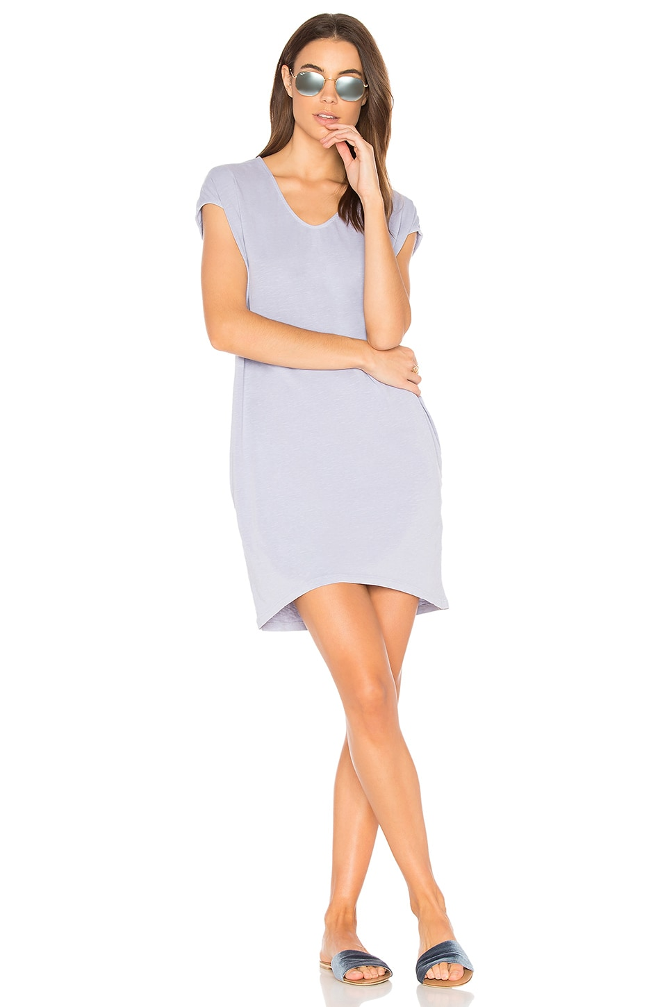 Tunic Pocket Dress by SUNDRY