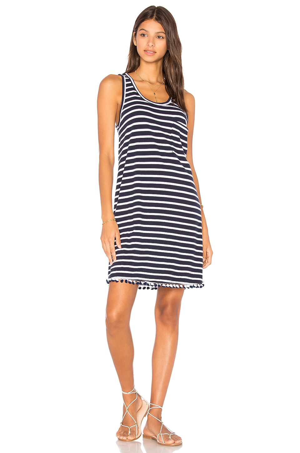 Maritime Specials Tank Dress by SUNDRY