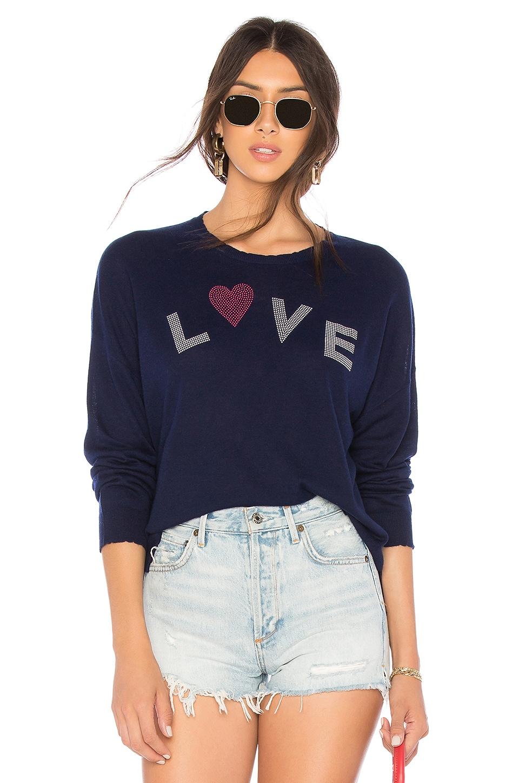 Love Cashmere Blend Crew Neck Sweater