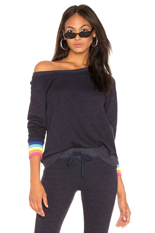 Rainbow Rib Sweatshirt