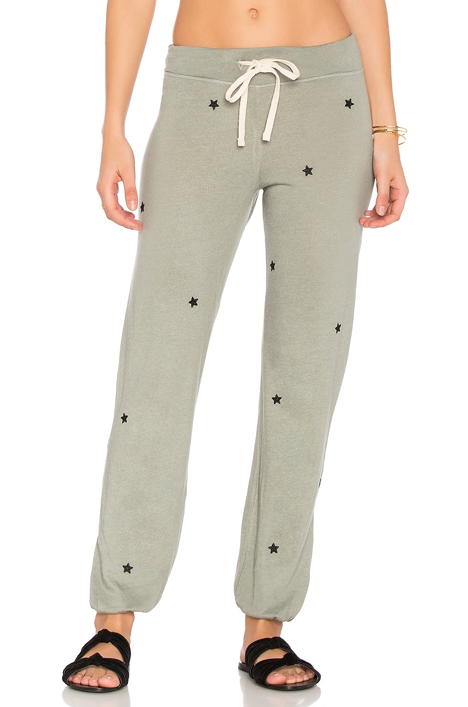 Star Patches Sweatpant by SUNDRY