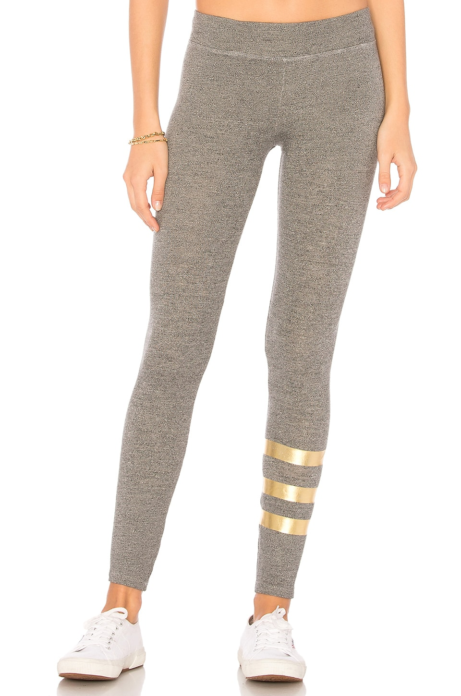 Foil Stripes Yoga Pant
