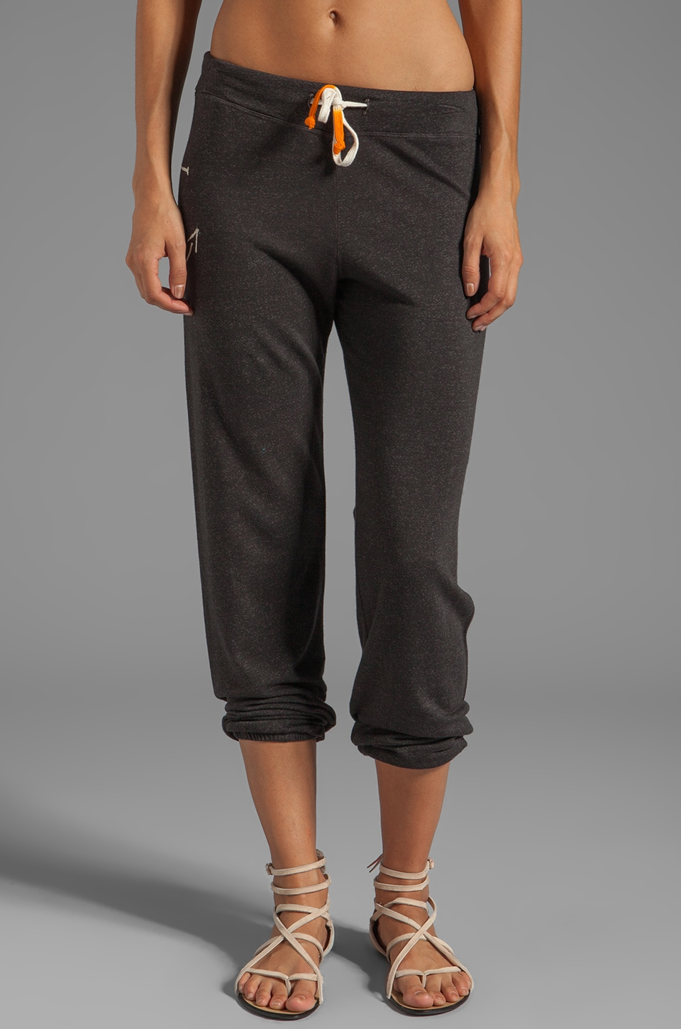 SUNDRY Anchor Classic Sweatpants in Old Black
