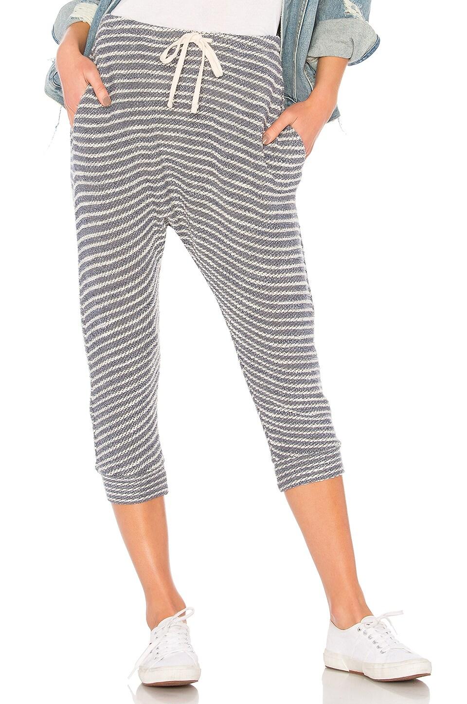 Striped Drop Crotch Pant