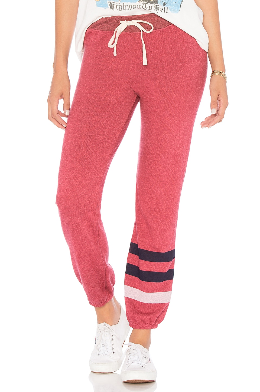 Stripe Basic Sweatpants