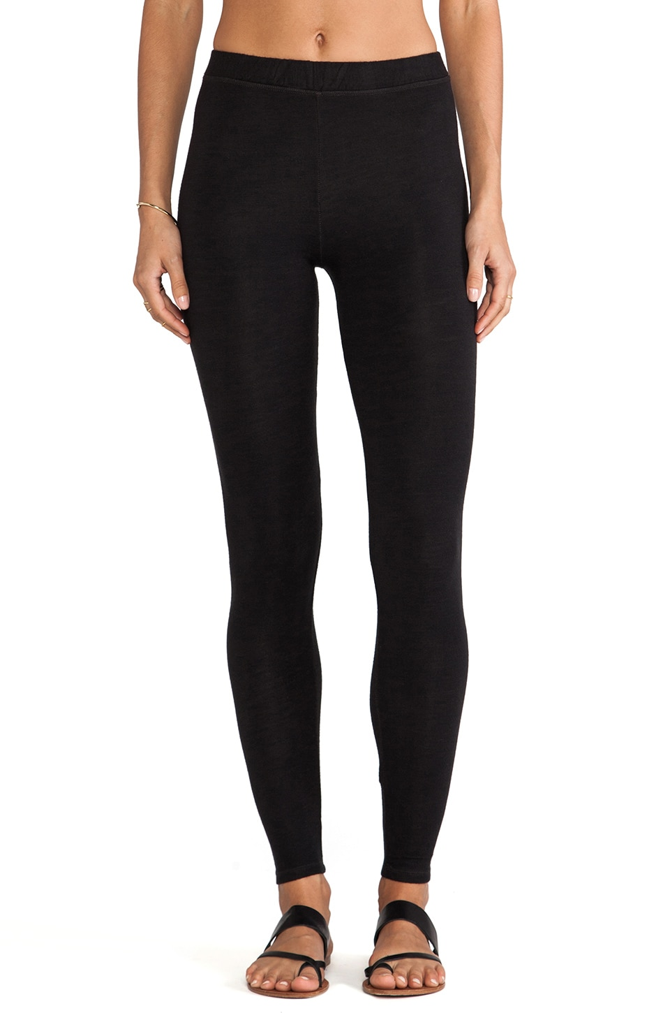 SUNDRY Legging in Old Black