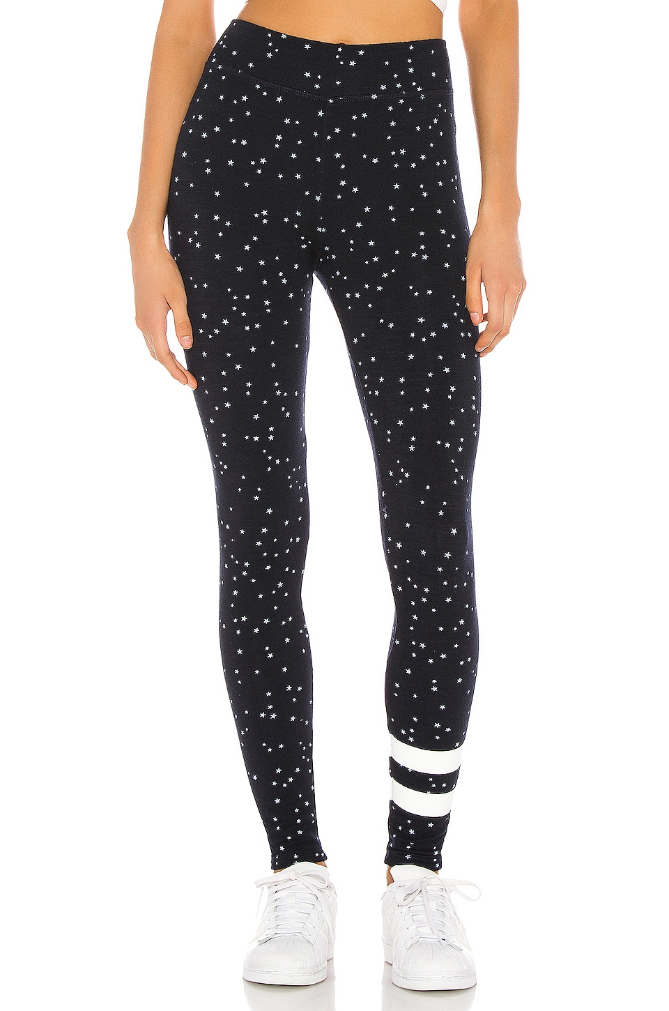 SUNDRY Stars Yoga Pant in Navy