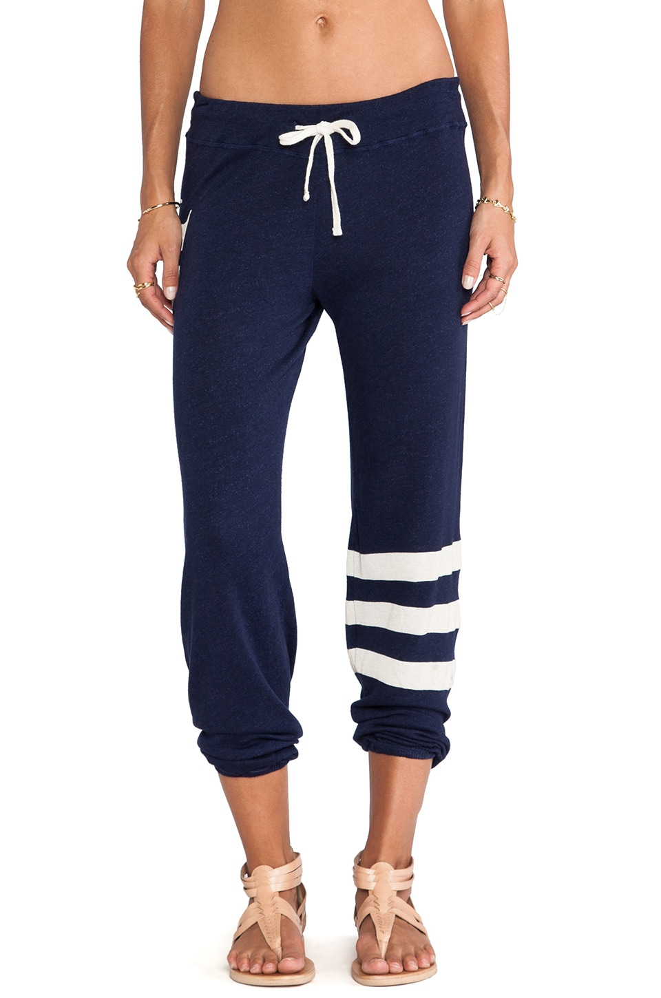 SUNDRY Surf Classic Sweatpants in Deep Sea